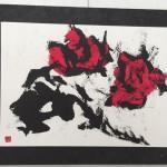 四街道『スタジオさゆ』にて、風人堂 第4回個展開催